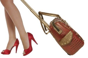 faux-alligator-rolling-bag-burgundy-red-bronze