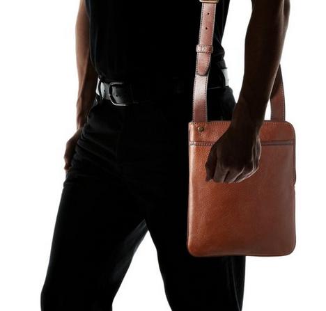 ipad purse messenger vertical