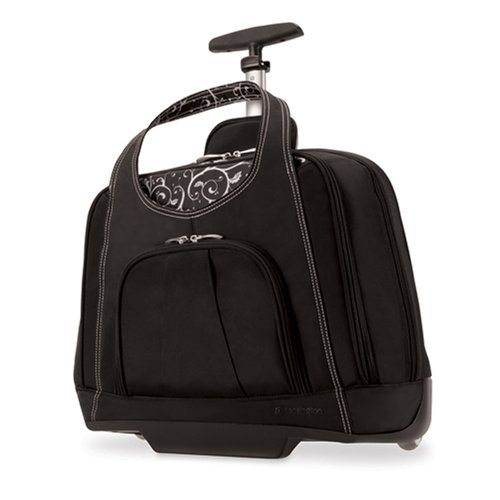 Cute Wheeled Laptop Bags Rolling Luggage For Women